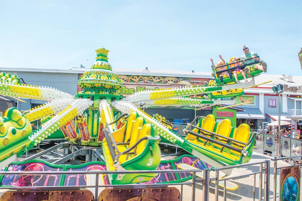 Jolly Roger Amusement Parks Ocean City, Maryland