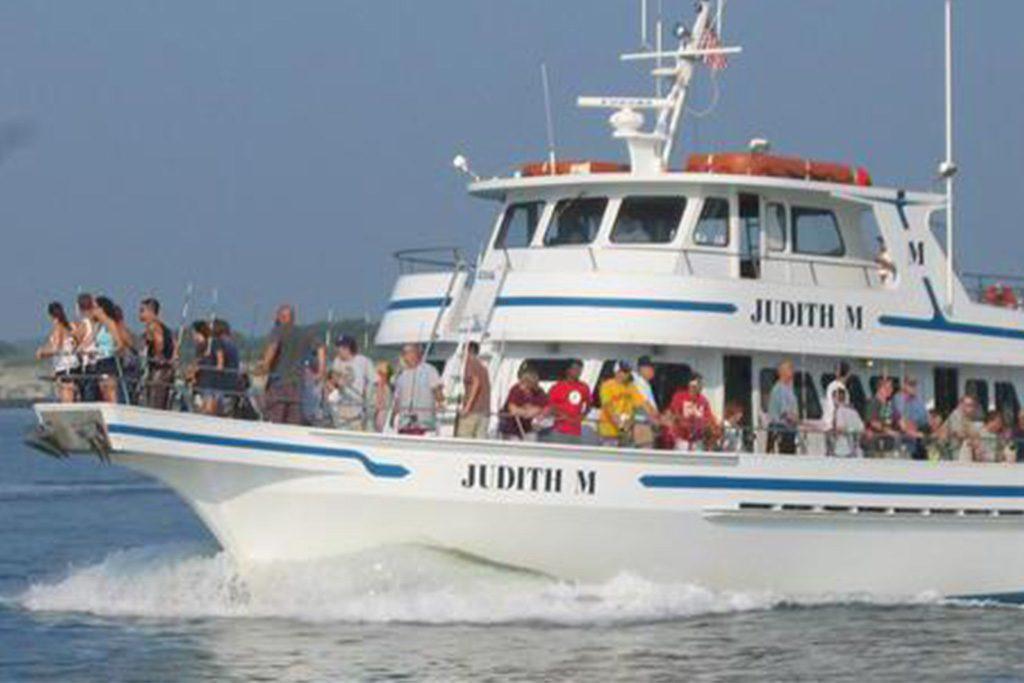 The Judith M fishing Ocean City, Maryland