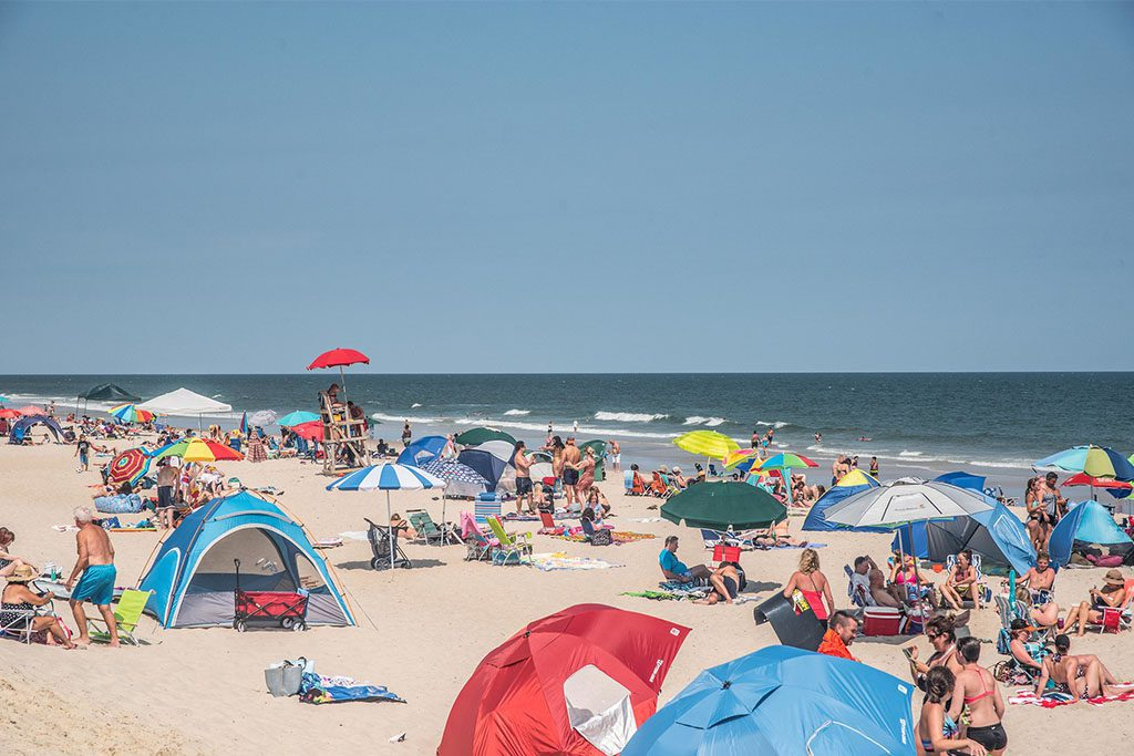 Assateague State Park in Berlin, Maryland