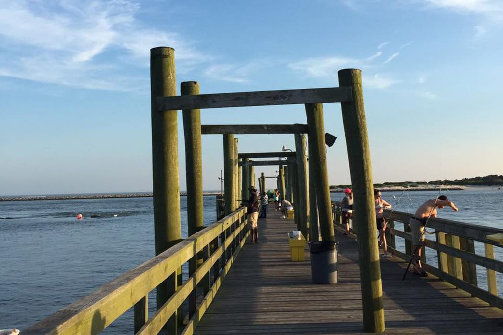 Oceanic Fishing Pier in Ocean City, Maryland