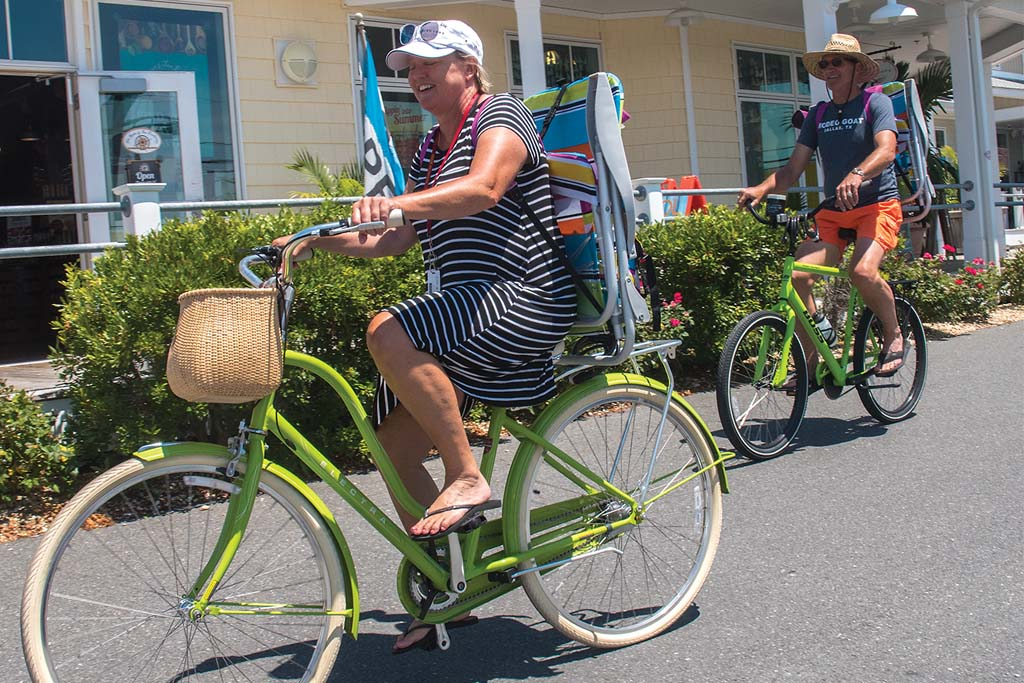 Biking in Ocean City, Maryland
