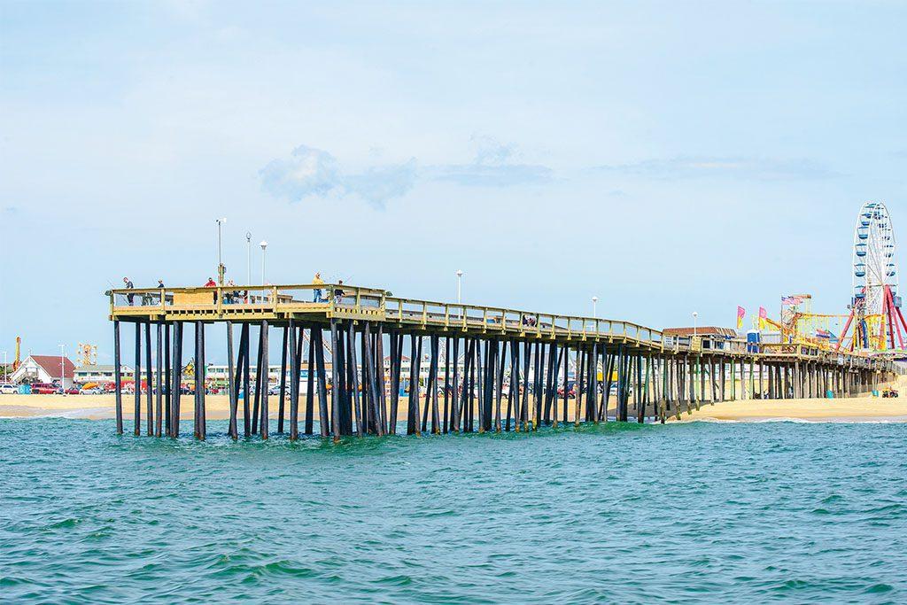 Pier Fishing in Ocean City