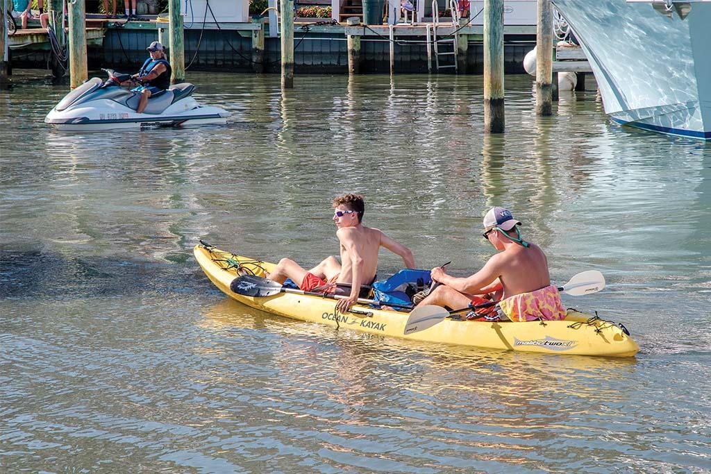 Kayaking in Ocean City
