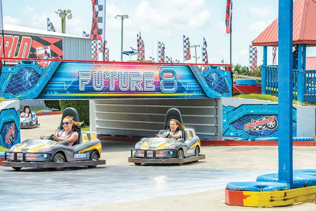 Jolly Roger Speed World go karts