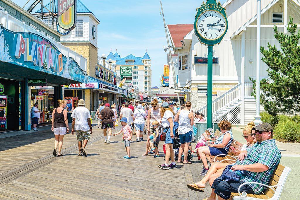 Ocean City Boardwalk rental property
