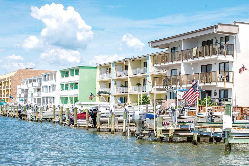 Ocean City waterfront rental