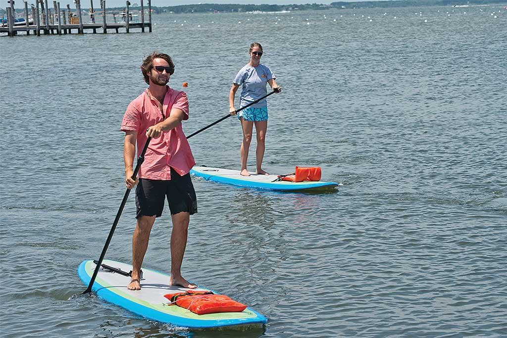 Ocean City paddle boarding