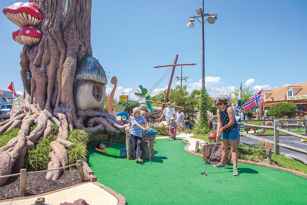 mini golf Ocean City
